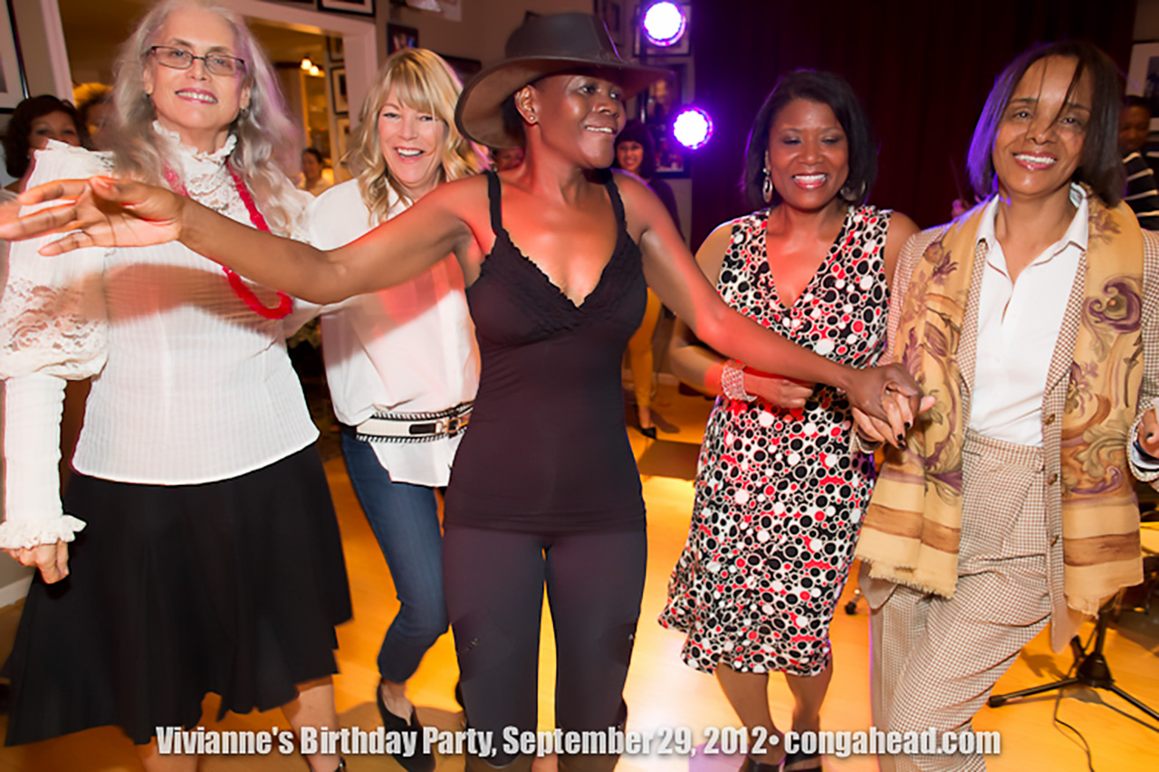 Vivianne Cohen's birthday party.  September 29, 2012