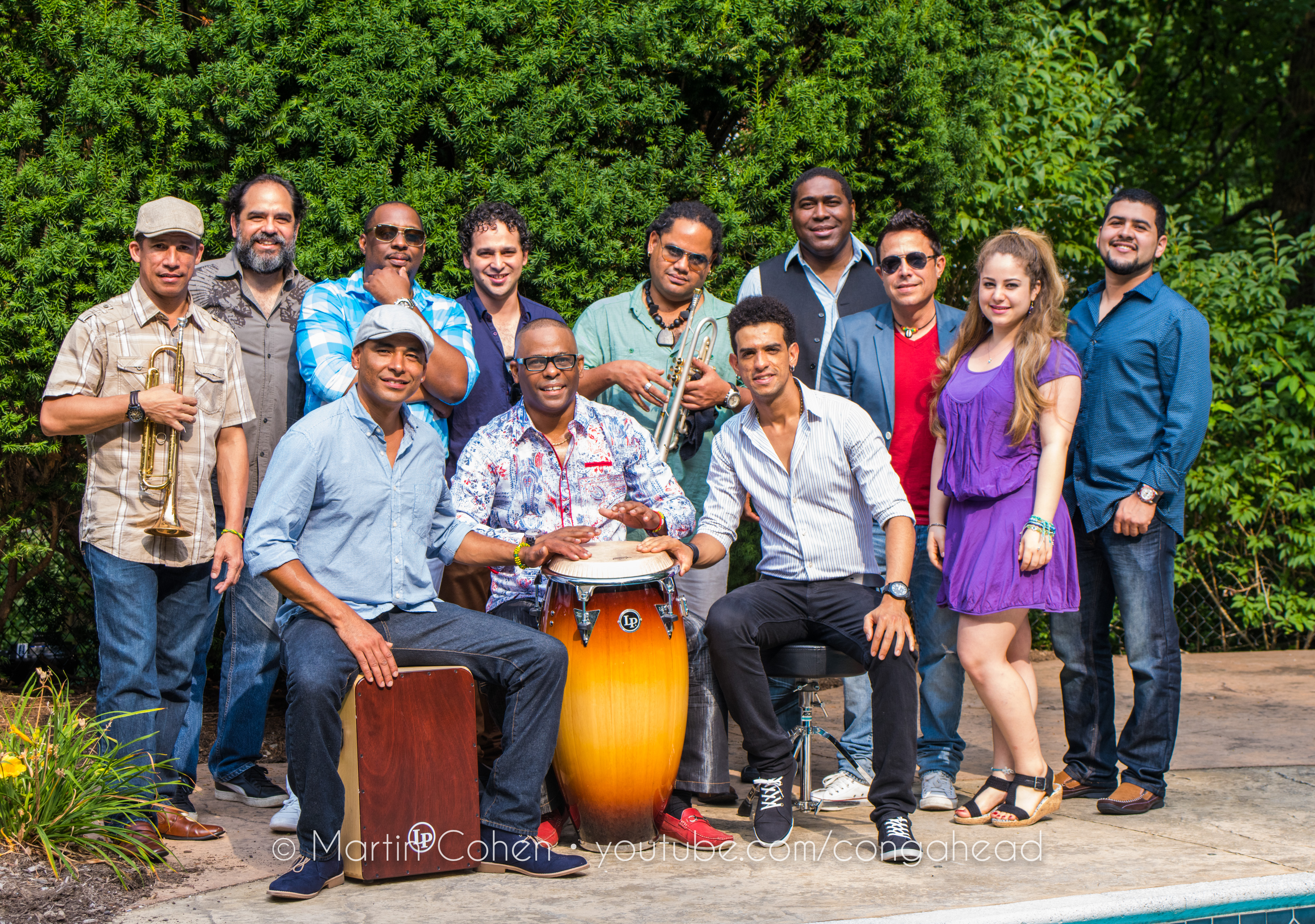 Miguel Valdes & The N.Y. Cuban Boys perform at Congahead Studio