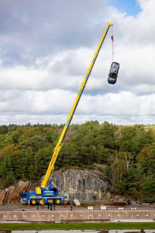 Thử nghiệm độ an toàn của xe Volvo -Thuỵ Điển