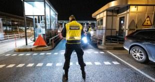 Trạm kiểm soát giữa biên giới Thuỵ Điển và Đan Mạch
