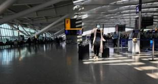 quang cảnh Sân bay Heathrow tại London
