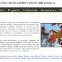 Resiliencia y Primer Foro de la Red de Consultores Artesanos