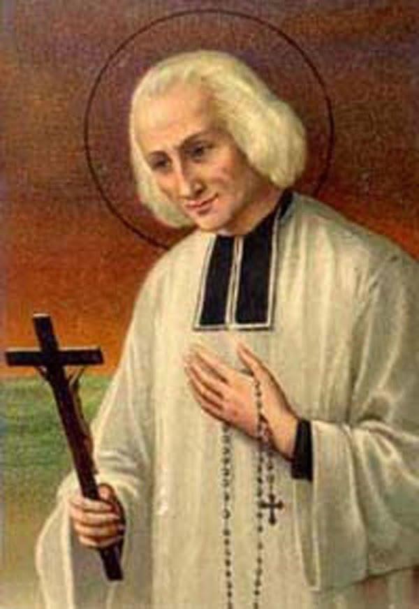 Trái tim của thánh Gioan Vianney thánh du Mỹ 2