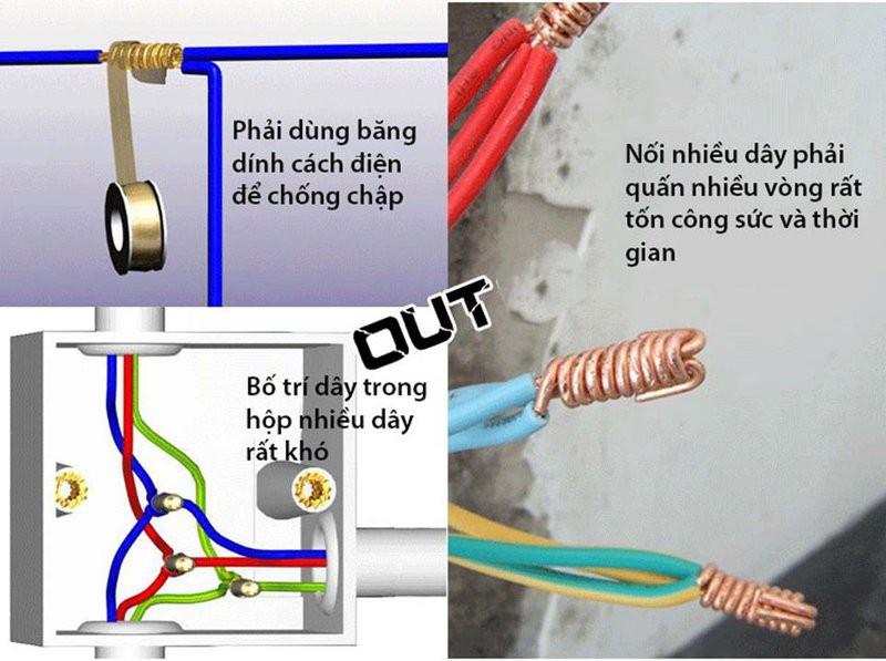 Cút nối dây điện CH-2