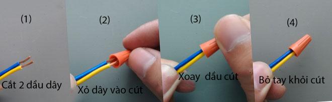 Cút nối dây điện nhanh SP
