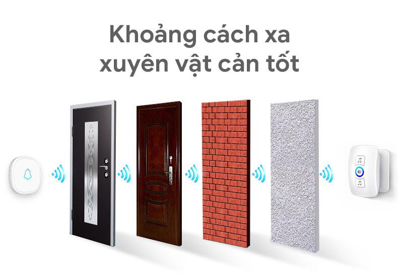 Chuông cửa không dây Kerui KR-M552
