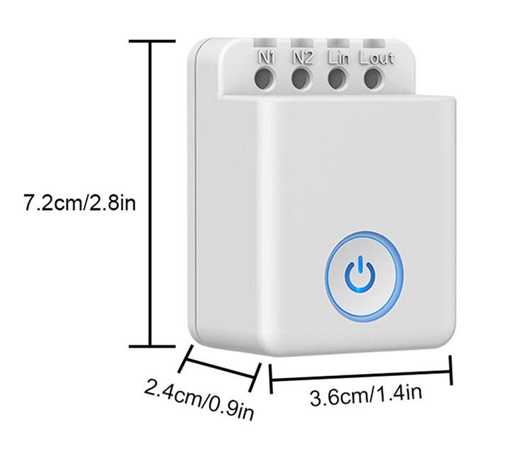 Công tắc điều khiển từ xa qua wifi Broadlink MCB1