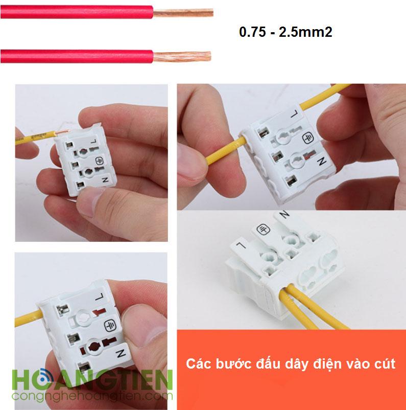 Cút nối dây điện nhanh 923