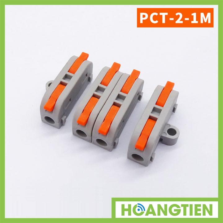 Cút nối dây điện 2 đầu PCT-2-1M