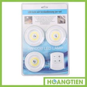 Bộ 3 đèn LED điều khiển từ xa HT-COB1