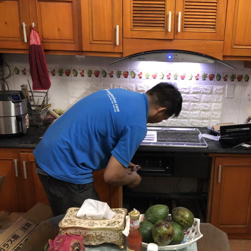 Dịch vụ lắp đặt bếp từ