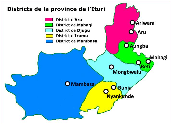 Présentation de la province de l'Ituri