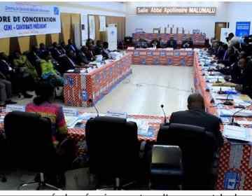 RDC/Rencontre Ceni-futurs présidents: Fatshi représenté par Jacquemin Shabani