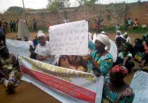 RDC/Beni: les femmes en sit-in pour exiger le départ de la Monusco