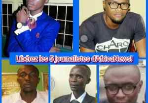 RDC : FFJ préoccupé par l'enlèvement de cinq journalistes dans la capitale