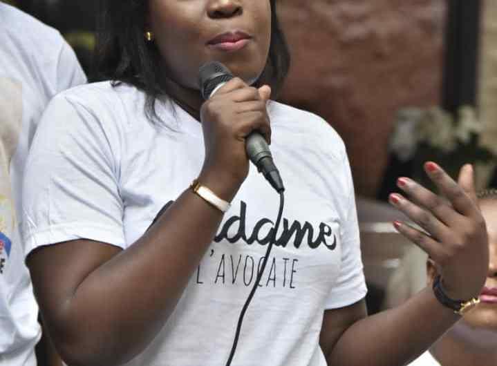 Législatives 2018: Christelle Biswese met en place son équipe de campagne
