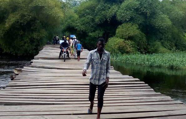 RDC/Tshopo: un nouveau pont jeté sur la rivière Lokumbe à Isangi