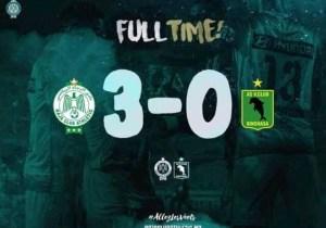 CAF-C2/Finale aller : soirée cauchemardesque pour V.Club devant Raja à Casablanca