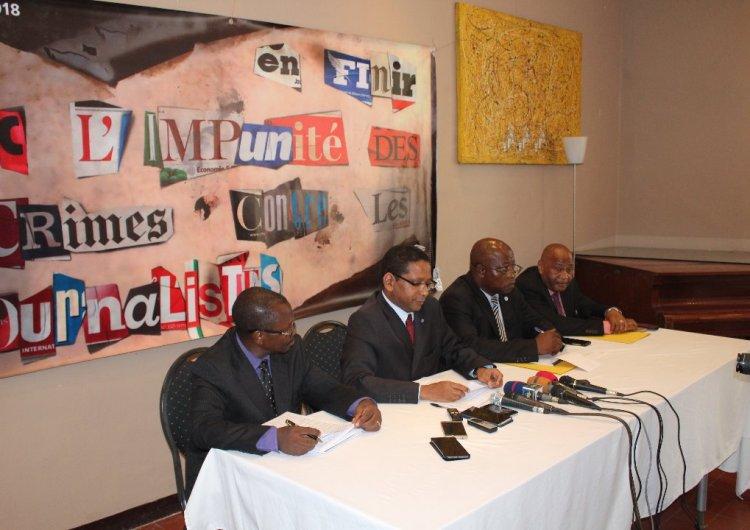 """Crimes contre les journalistes: l'UNESCO lance la campagne """"#TruthNeverDies"""" en RDC"""