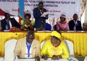 Sud-Kivu: politiques et société civile s'engagent pour la paix