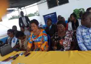 Machine à voter : Marie-Ange Lukiana sensibilise Tshangu