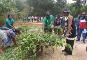 Congo/Brazza : l'opération « Ville, village et habitation propre » lancée