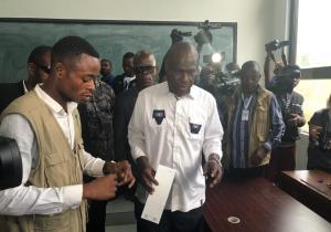 RDC/présidentielle 2018: Martin Fayulu a voté à l'Athénée de la Gombe