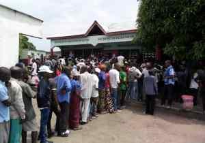 RDC/Elections: Des scènes surréalistes dans les bureaux de vote