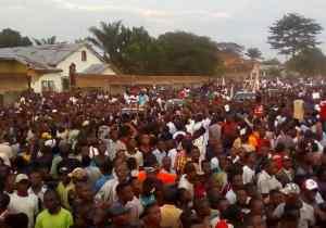 RDC/présidentielle 2018: Félix Tshisekedi accueilli en prince à Kananga !