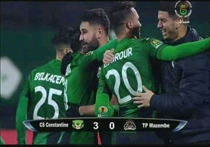 CAF-C1 : Mazembe sévèrement battu en Algérie !
