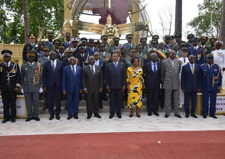 Brazza/Réveillon d'armes 2018 : la force publique Congolaise appelée à poursuivre l'effort de formation et d'entraînement en 2019