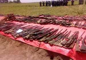 RDC/Kasaï central: plus de 340 armes d'ex miliciens remises aux FARDC, D. Kambayi essoufflé !