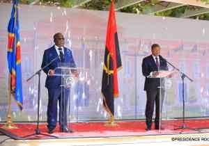RDC-Angola: la sécurité et l'économie, une priorité( João Lourenço)