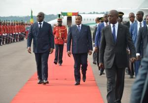 RDC-CONGO : F. Tshisekedi à Brazza pour dynamiser les liens séculaires d'amitié et de fraternité