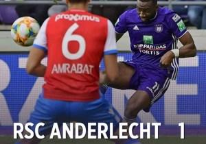 Football-Anderlecht : Bolasie signe son premier doublé !
