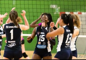 Volley-ball : Grâce Christine Zenga fait le bonheur de la RDC en France