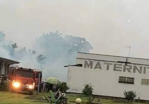 Incendie à la Clinique Ngaliema: le service des archives parti en fumée !