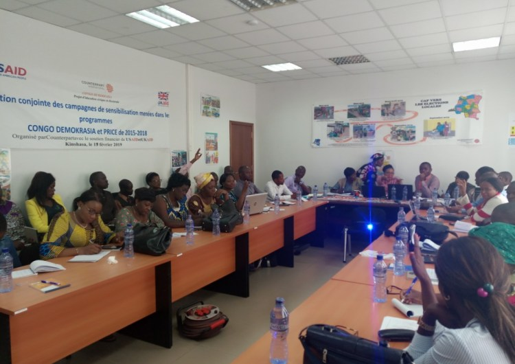 RDC: les réseaux des femmes de 26 provinces exigent l'application stricte de la loi sur la Parité