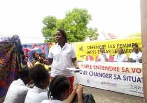 RDC: UCOFEM sensibilise les élèves du collège St Léonard au droit àla liberté d'expression