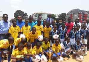 "Kinshasa : Ngiri-Ngiri sacré champion du "" festival du football des jeunes de Kin-Ouest"""