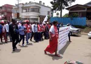 RDC/Bukavu: CACH Sud-Kivu dans la rue pour soutenir la décision de suspension de l'installation des sénateurs