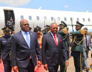 RDC-Angola: F. Tshisekedi invité de Lourenço à Cuito Cuanavale