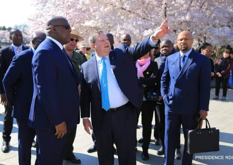 RDC: quel rôle joue l'ambassadeur américain Mike Hammer aux côtés de Félix Tshisekedi?