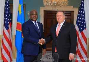 Tshisekedi-Pompeo pour l'affermissement des relations entre la RDC et les USA