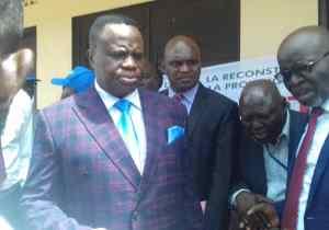 """Le gouverneur Peti-Peti: """"Je vais démontrer que le Kwango n'est pas pauvre"""