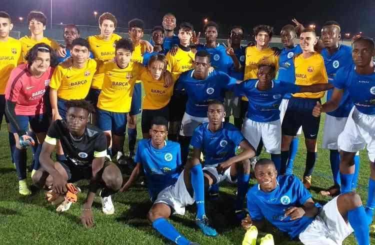 Tournoi Dubaï Super Cup : les Kinois ont laminé l'académie du FC Barcelone !