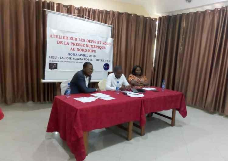 """RDC/Goma: la """"Maison des journalistes"""" sensibilise les webjournalistes sur leurs défis et rôle"""