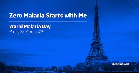 25 avril: Paris, capitale mondiale de la lutte contre le paludisme