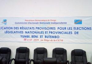 RDC/ Yumbi, Beni et Butembo : tous les résultats des législatives et provinciales 2019 (CENI)
