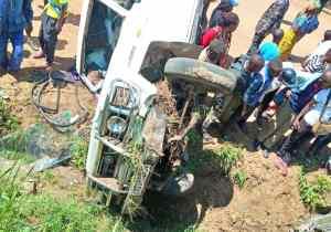 RDC/Kasindi: 1 mort et un blessé dans un accident de route